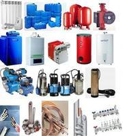 Котлы газовые,  твёрдотопливные, электрические.Кабельный обогрев