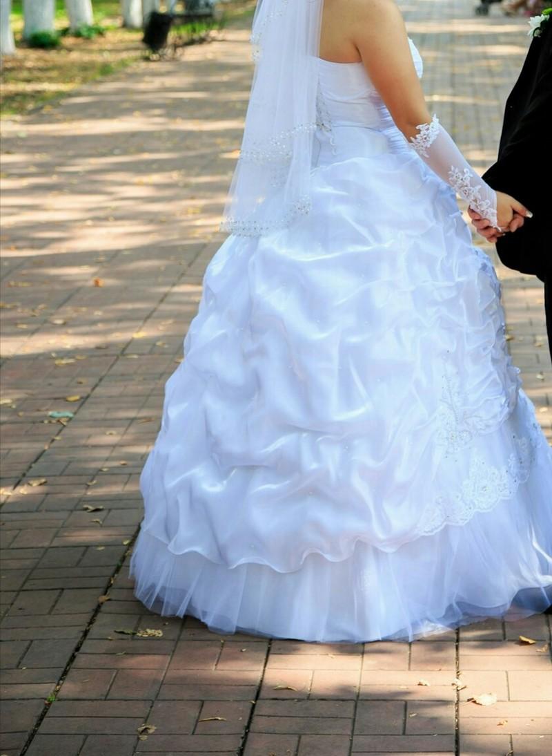 Свадебное платье 4 кольца